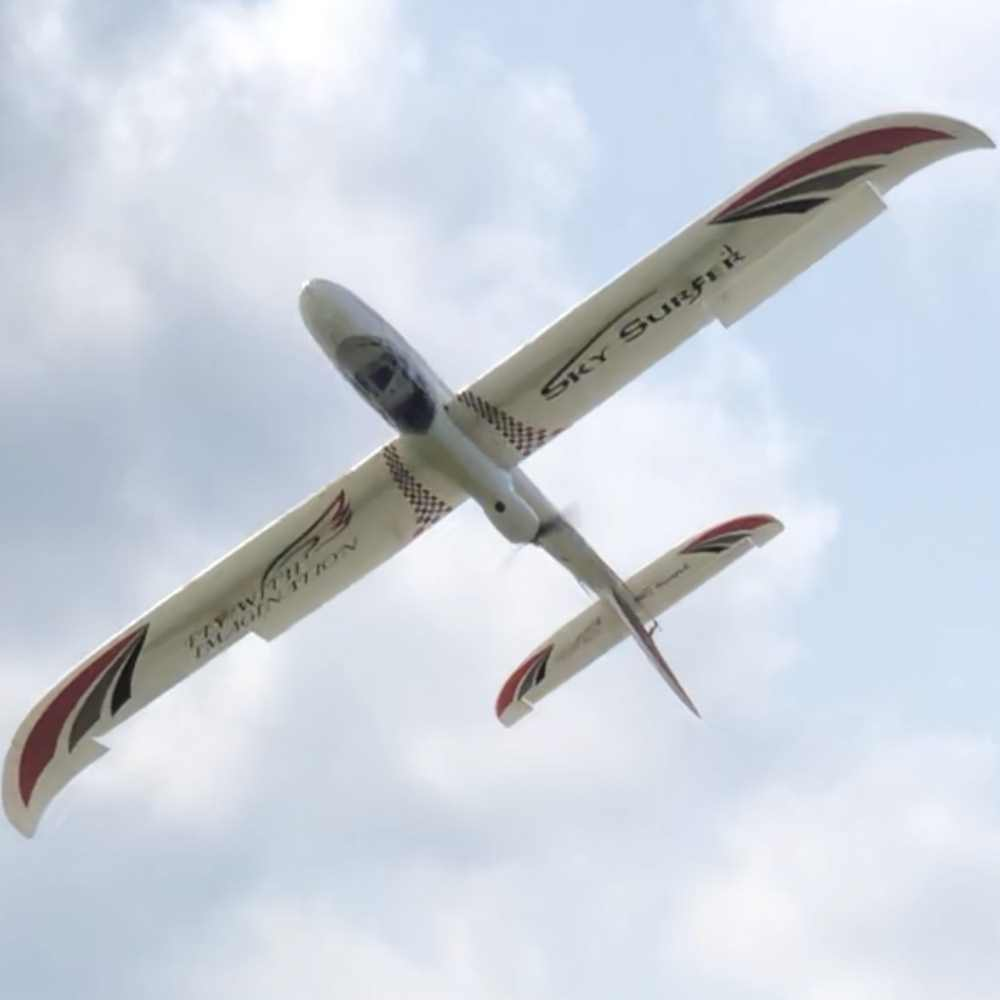 1500mm 1.5M wingspan Sky Surfer X8 propeller rc glider trainer plane KIT with 2 style tail