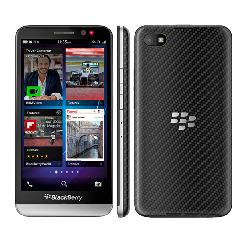 """Original Unlocked BlackBerry Z30 Mobile Phone Dual core 4G WiFi 8MP 5.0"""" 16GB ROM Refurbished Cellphone-in Cellphones from Cellphones & Telecommunications"""