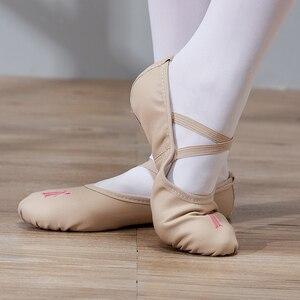 Image 4 - Buty do tańca dziewczyny baletki dla dziewczynek dzieci dzieci wysokiej jakości dziewczyny buty do tańca buty do tańca skórzane podeszwy balerinki