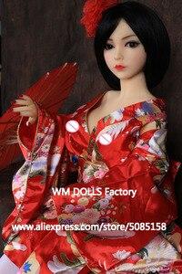 Image 4 - WM בובות 100cm למעלה איכות מתכת שלד גדול שדיים אנימה סיליקון סקס בובות לגברים מלא גודל נרתיק מציאותית אוראלי אהבת בובות