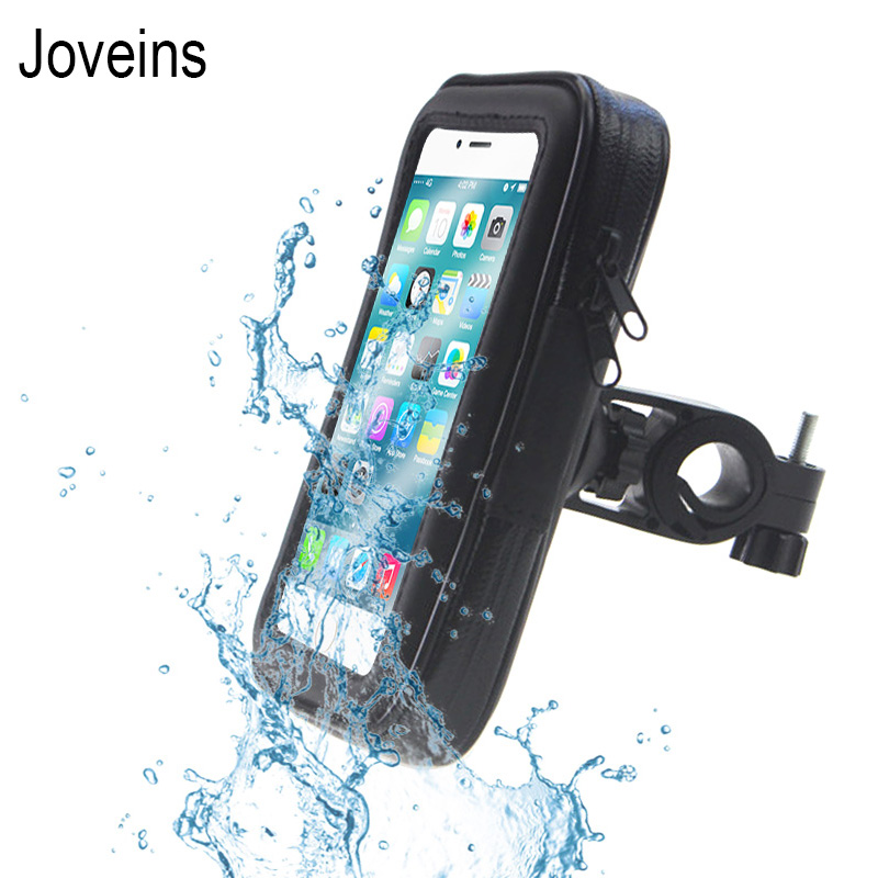 Motorcycle Bicycle <font><b>Phone</b></font> <font><b>Holder</b></font> Mobile <font><b>Phone</b></font> Stand Support for <font><b>iPhone</b></font> X <font><b>8</b></font> 7 6s <font><b>Plus</b></font> GPS <font><b>Bike</b></font> <font><b>Holder</b></font> with Waterproof Case Bag image