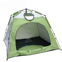 Large space 3 4 people ice fishing tent filling cotton winter tent automatic speed tent quick open warm fishing tent