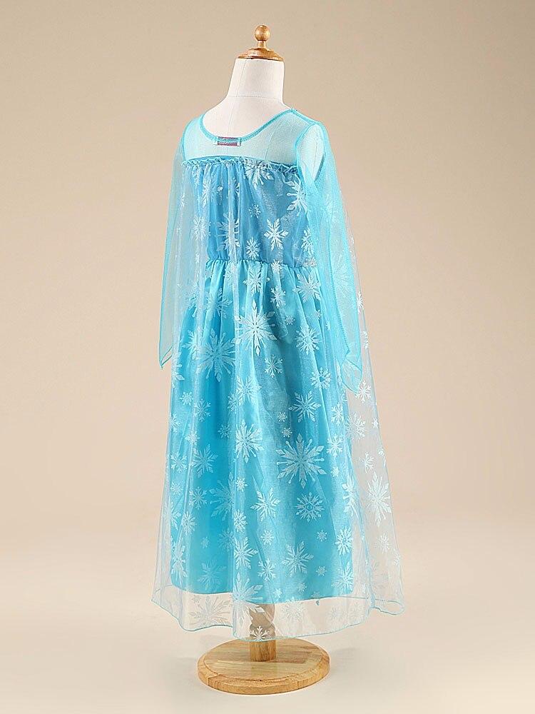 HTB1S.LMXaQoBKNjSZJnq6yw9VXat Girls Elsa Dress Costume Princess Anna Dresses Cosplay Party Summer Baby Kids Children Fancy Baby Girl Clothes elza vestidos