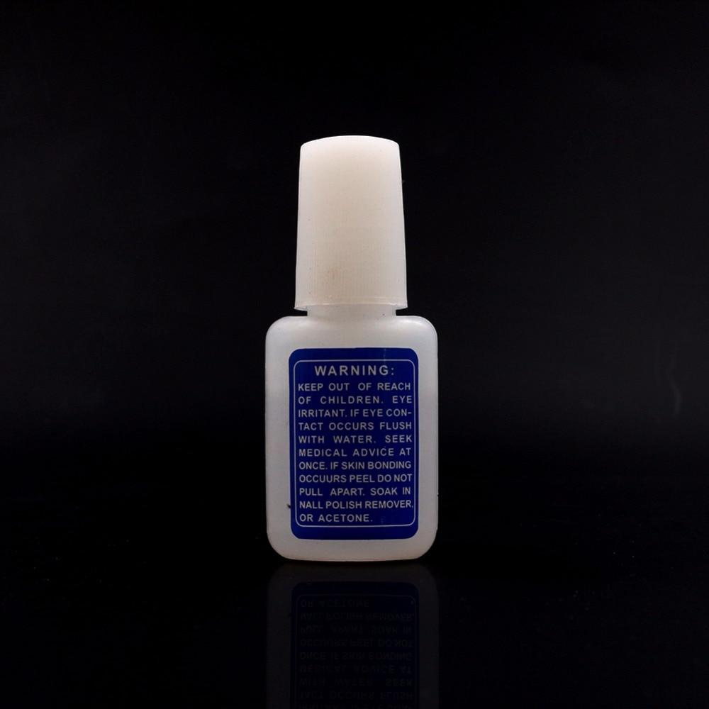 10g BYB Nail Art Glue Tips Glitter UV Acrylic Rhinestones Decoration ...