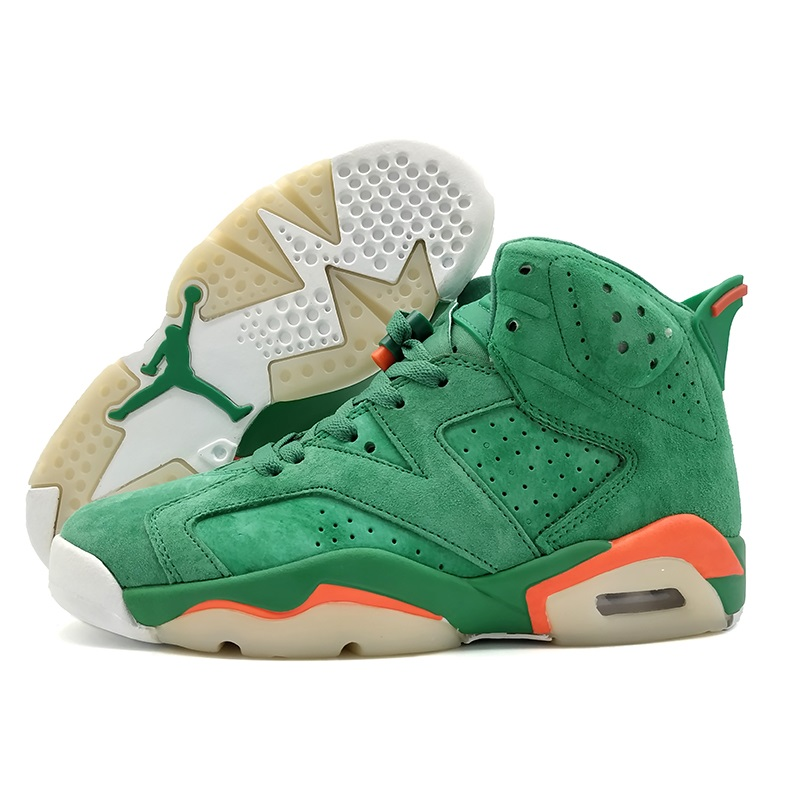 Confident Jordan Retro 6 Vi Men Basketball Shoes Gatorade Green Infrared Wheat Sport Blue Athletic Outdoor Sport Sneakers 41-47 Remote Control Toys