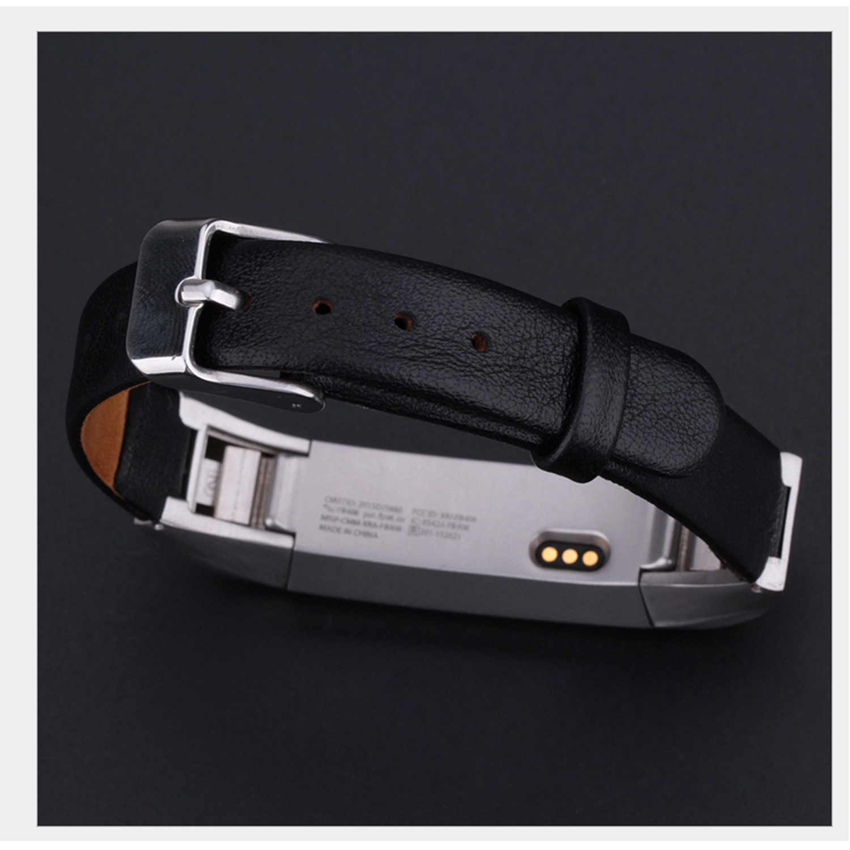 CRESTED Lederarmband Für Fitbit Alta/Alta HR uhr band hochwertigen uhrenarmband Ersatz band
