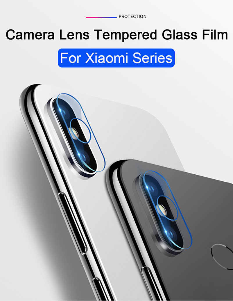 Lente Da Câmera traseira 5 protetor de tela do filme de vidro temperado Para Xiao mi mi mi Vermelho nota 4 4x Pro caso telefone cobertura completa