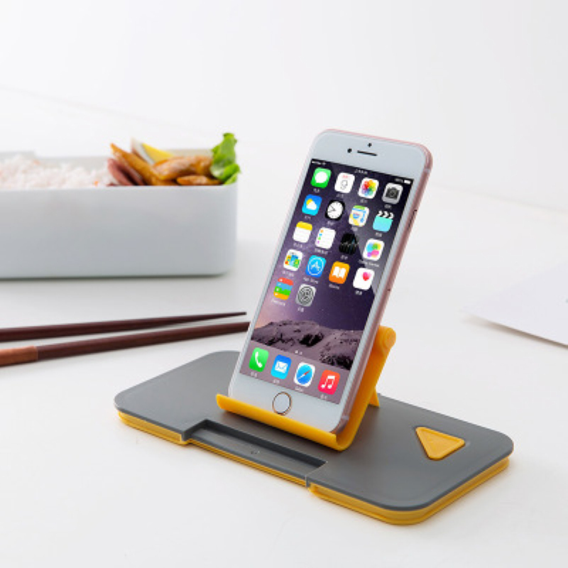300ml Creative Phone Stand Lunch Box Single Layer Microwave Heating Leakproof Food Storage Container Lunchbox For Picnic Office in Lunch Boxes from Home Garden