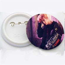 Kpop EXO Badge [Coming Over] Brooch Chest Christmas Gift Baekhyun Sehun Chanyeol