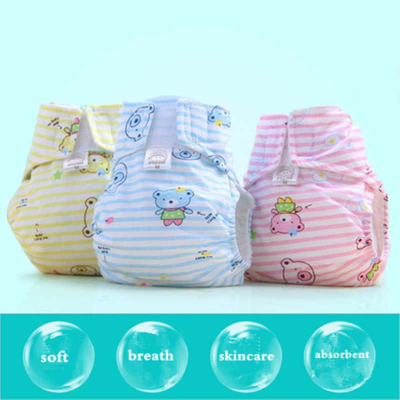 Herbruikbare Luiers Pasgeboren Wasbare Baby Doek Luiers Voor Kinderen Zachte Comfortabele Luiers Ademend Zindelijkheidstraining Broek