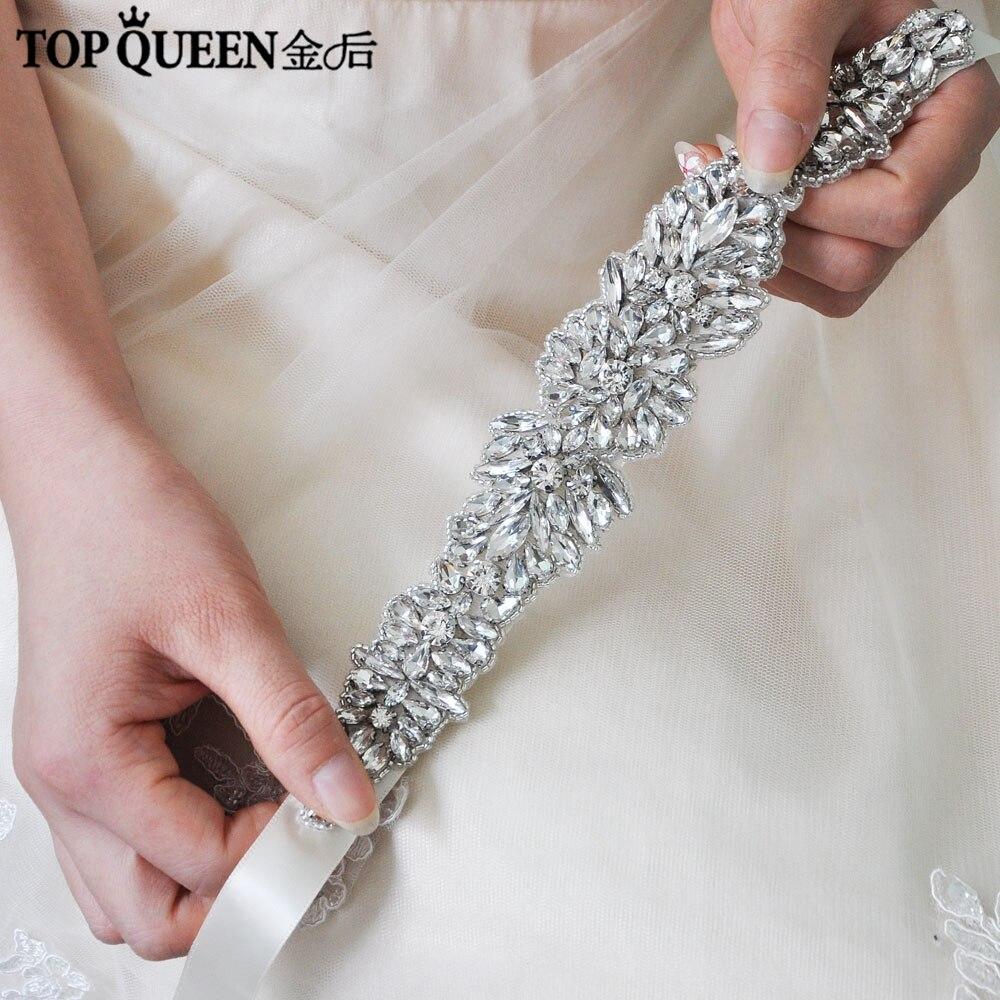 TOPQUEEN H334 Wedding Hair Accessories Rhinestone Headdress For Girlfriend Fascinator Woman Wedding Headbands Wedding Decoration