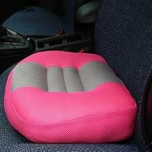 Ортопедическая подушка для сиденья с увеличением, подушка Almofada, подушка для автомобильного сиденья, увеличенный толстый нескользящий коврик, подушка для сиденья, Подушка для спины