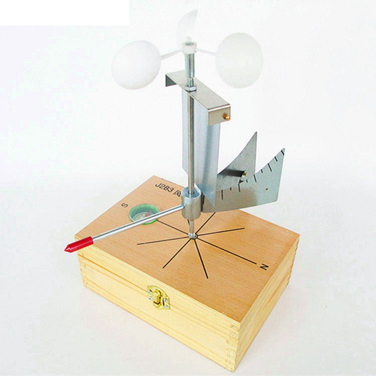 Wind Direction Meter J283 Geographical Surveying Blind Box Matching Geography Teaching Education Equipment Weather Station