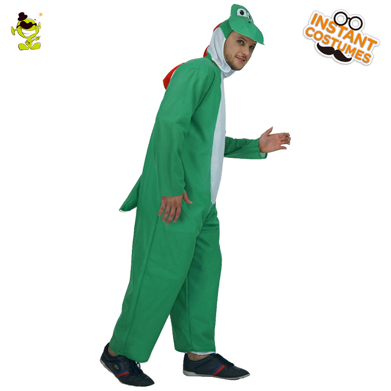 Mens Dinosaur Costume Christmas Dinosaur jumpsuit Adult Animal Role Play Pajamas Hot Dinosaur Fancy Dress
