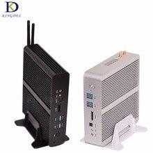 Большой Pro M otion безвентиляторный HTPC Mini PC i7 5500U 5600U Платформа Intel NUC мини настольных ПК бродуэлл Graphics HD 5500 300 м Wi-Fi TV Box 2 * HDMI