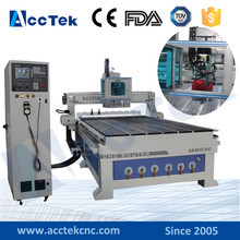 Professional woodworking cnc atc cnc 1325 1530 wood process router wood lathe machine price