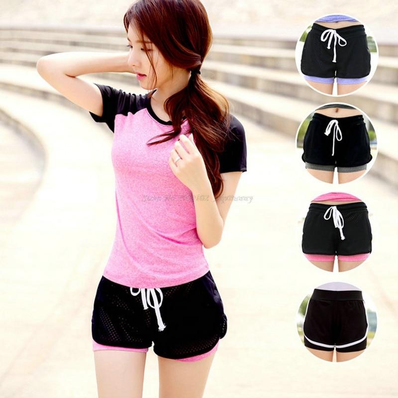 Push-up Mini-shorts voor damesyoga Sportkleding Ademend Sneldrogend - Sportkleding en accessoires