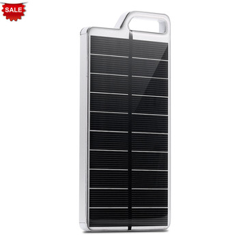 PowerGreen Solar Battery Charger 10000mAh KeyChain Design Power Bank External Battery Pack for Mobile Phones