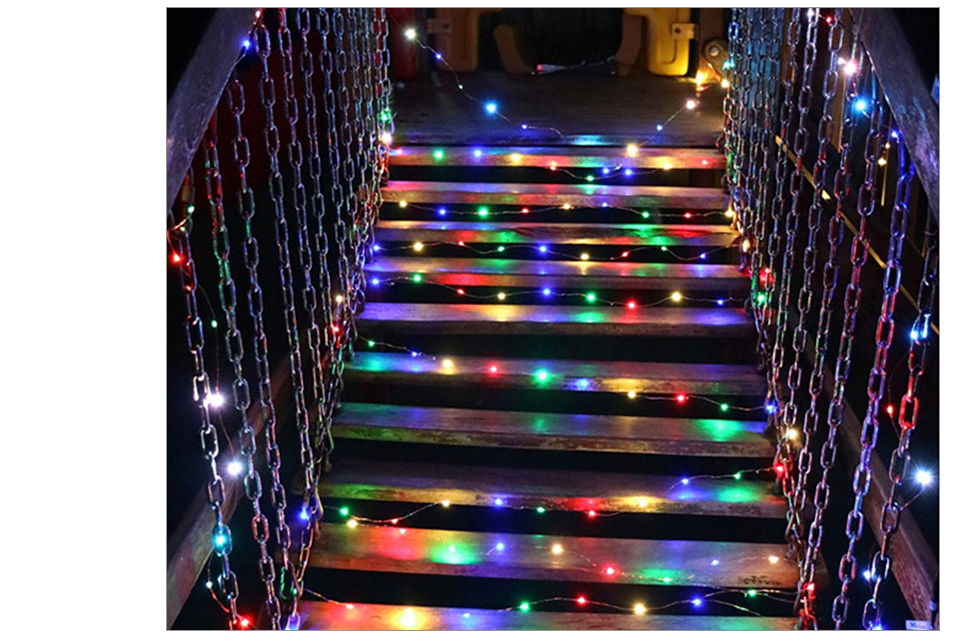 10M 20M Solar Power LED Garland Christmas Tree Fairy String Lights Chain Copper Wire Home Outdoor Christmas Holiday Decoration (12)