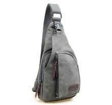 Men canvas high quality chest bag (6 colors)