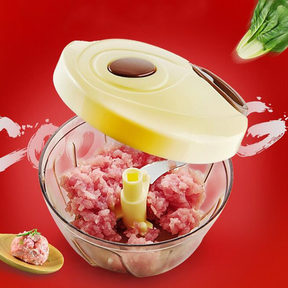 Mini Multi-functional Vegetable Fruit Shredder Manual Meat Grinder Chopper Garlic Cutter