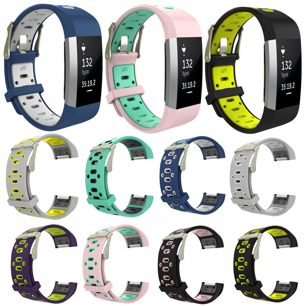 Replacement Wrist Band Silicon Strap Clasp For Fitbit Alta Smart Watch PK