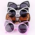 4 cor 2015 nova grande rodada de gato do Vintage óculos moda verão óculos de sol mulheres Designer de marca óculos de sol