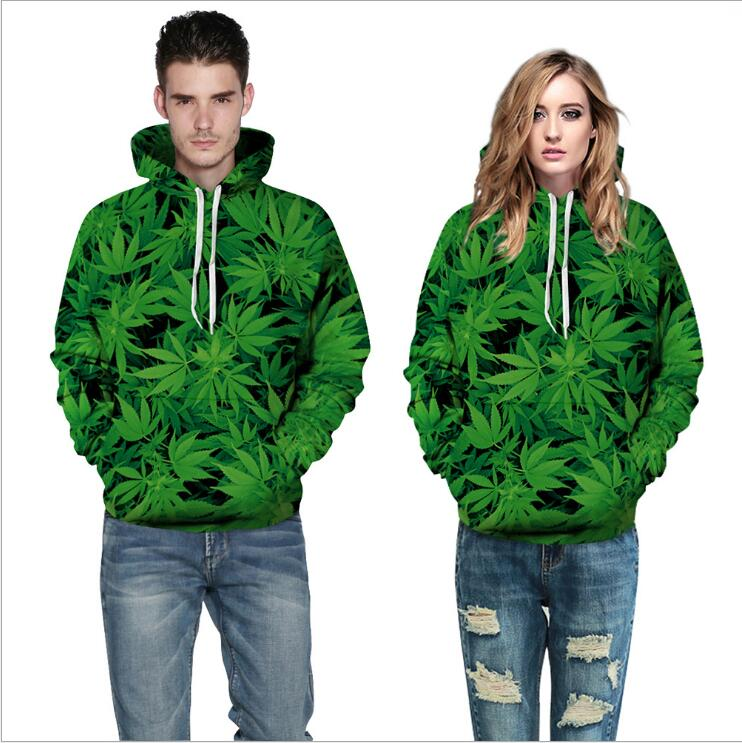 3D Hemp Digital Printed Hooded Sweatershirts Loose Casual Women Men Fashion Outerwear Clothing Plus Size