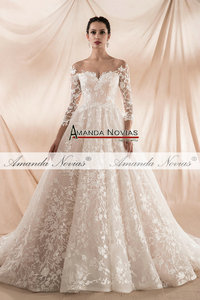 Image 4 - robe de soiree 2020 New Arrival Wedding Dress Champagne Wedding Dress Actual Real Photos