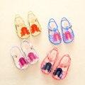 HOT 2016 New Kids Mini SED Jelly Sandals For Baby Girls ice cream Children Summer Cute Cartoon Beach Shoes Infantil Sandalia