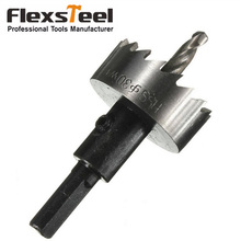 1Pc 9341HSS 16MM or 20MM Carbide Tip Power Holesaw Drill Bit with Hex Key Twist Drill Bits Hole Saw Cutter Woodworking Tool 5pcs long plates woodworking hole saw tungsten carbide drill bits cutting 12mm 14mm 16mm 18mm 20mm kkq p12 20