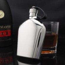 Tasche hüfte glaskolben 5 unzen edelstahl 304 mini metall whisky topf 150ml alkohol flasche tragbare wein container whisky mann geschenk