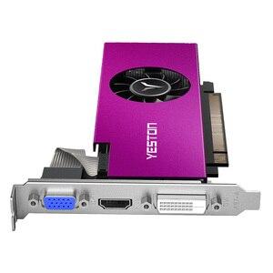 Image 5 - Yeston Radeon RX550 4GB GDDR5 PCI Express 3.0 DirectX12 Single Slot graphics card VGA+HDMI+DVI D graphics card of Desktop