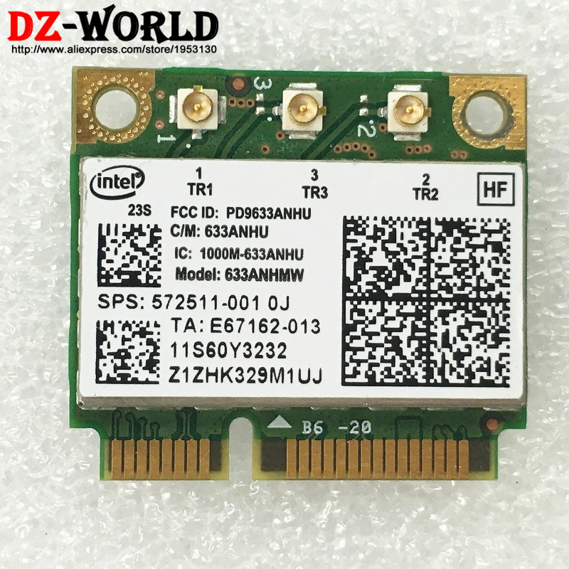 US $10 55 |For Intel Ultimate N 6300 AGN Mini PCI E 450Mbps Wireless WLAN  Network Card 60Y3233 for Thinkpad X1 X230 X230i X230T X230 Tablet-in Laptop