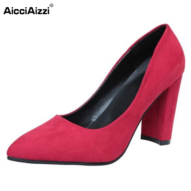 Lady High Heel Shoes Women Pointed Toe Heels Pumps Solid Color Vintage Sexy Party Wedding Vacation Leisure Footwears Size 35-39 cicime women s heels thin heel spikes heels solid slip on wedding fashion leisure casual party dressing high heel platform pumps
