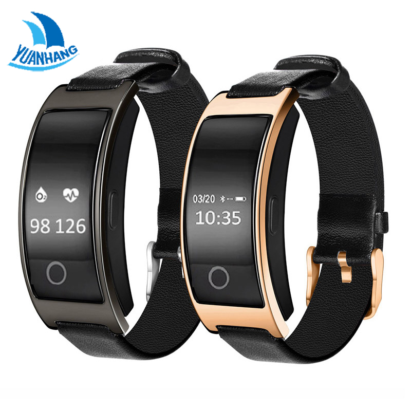 YH Bluetooth Smart Watch Bracelet Band Blood Pressure Heart Rate Monitor Pedometer Fitness Smartwatch For IOS