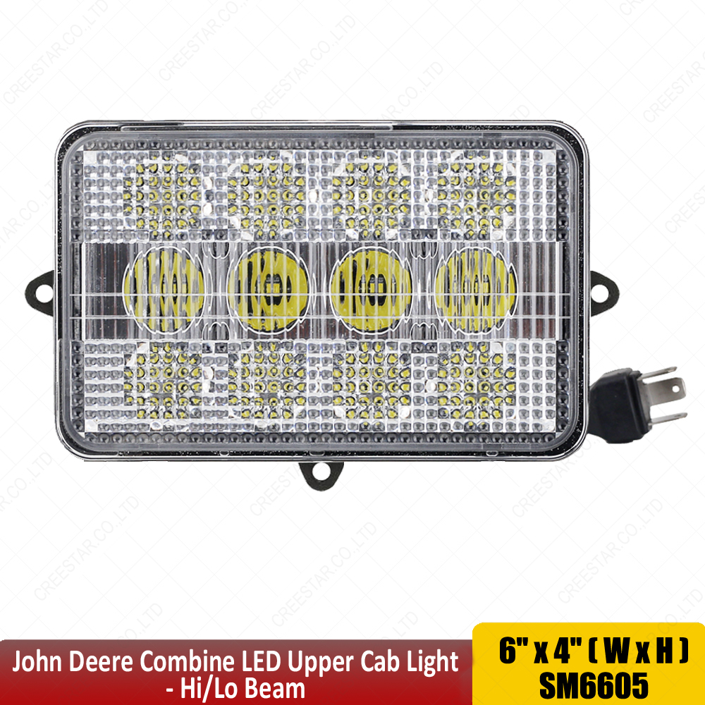 Agricultural LED Lights TL9000 LED Combine Light Replace top of cab headlight 60W led tractor lights