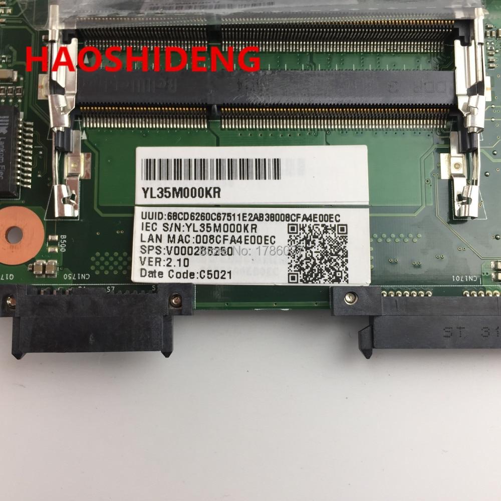 V000288250 GL10FG-6050A2492401-MB-A02 para la placa base Toshiba - Componentes informáticos - foto 2
