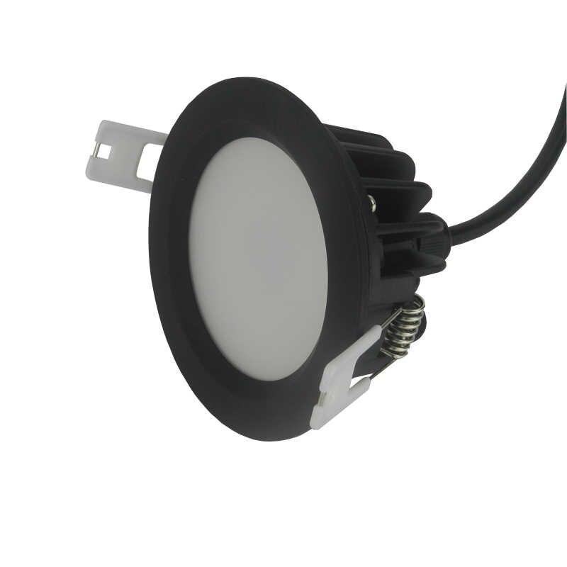 O teto impermeável ip65 recessed conduziu a luz do ponto ac220v 15 w/12 w/9 w/7 w/5 w conduziu downlight para a sauna da sala de chuveiro do banheiro