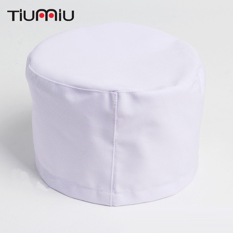 High Quality White Medical Caps Doctor Nurse Surgical Caps Chef Workwear Caps Hotel Restaurant Canteen Cooking Caps Chef Uniform