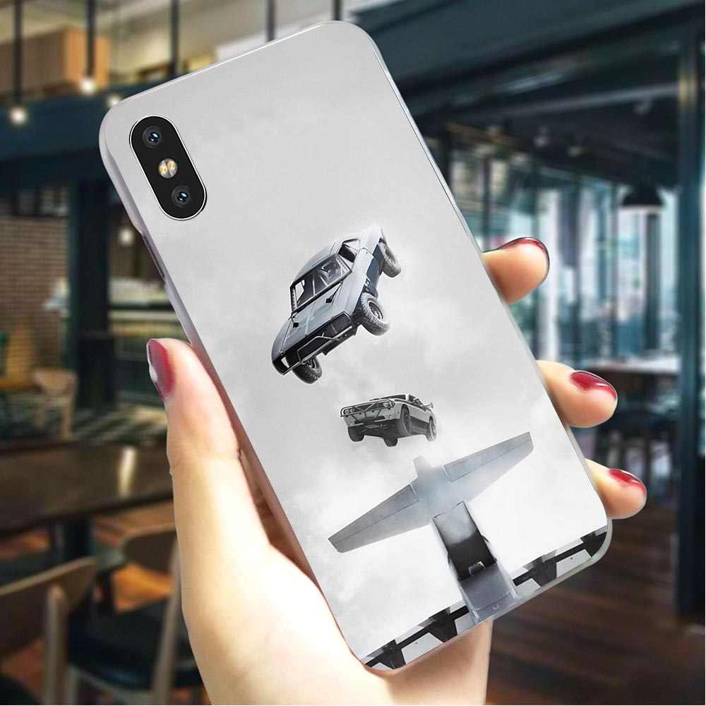 Fast & Furious Vin Diesel Hard Cover voor iPhone 6 S Mode Telefoon Case voor iPhone 6 S Plus 7 8 X Xs Max XR 5 5 S SE 6 Back Covers