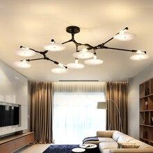 Италия острый сплав люстра минималистский спальня гостиная лампы дизайнер модель номер творческий диск люстры