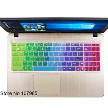 15,6 pulgadas cubierta de teclado de silicona capa protectora para Asus VivoBook Max F541 F541SA F541SC F541UA F541UV F540UP F541UJ A540 F540