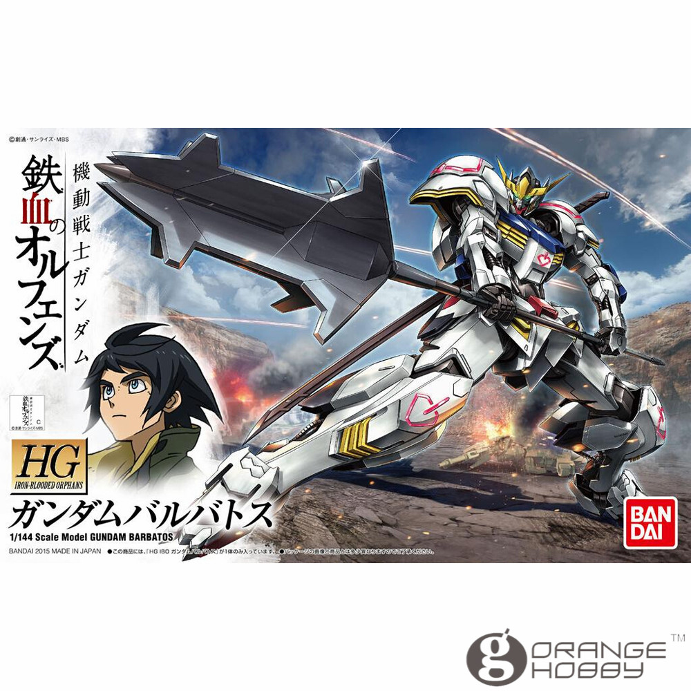 OHS Bandai HG Iron-Blooded Orphans 001 1/144 Barbatos Gundam Mobile Suit Assembly plastic Model Kits oh ohs bandai sd bb 385 q ver knight unicorn gundam mobile suit assembly model kits oh
