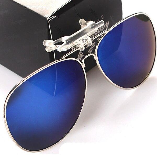 b247d218f3 Fashion aviator style polarized round flip up clip on sunglasses sun glasses  2015 Popular design