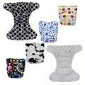 Pantalones Bragas Impermeables Reutilizables Pañales de Tela Lavables Pañales Pañales Transpirable Pañales para Bebés Pañales de Tela Modernos