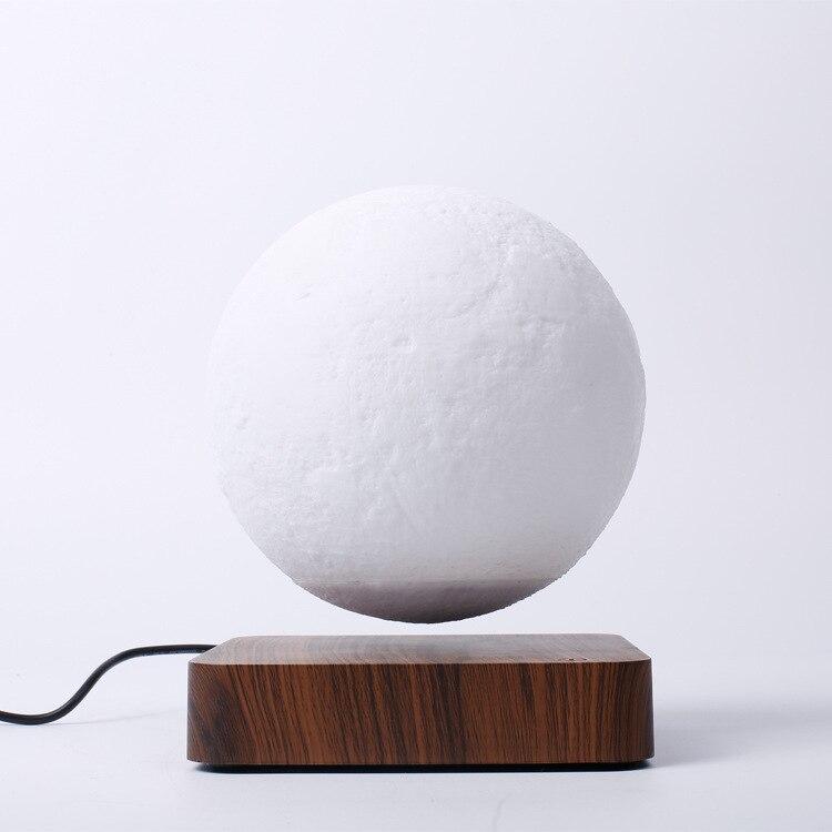Nieuwigheid LED Maglev maan nachtlampje 3d Printing Lunar Lamp Creatieve Verjaardagscadeau Magnetische levitatie 360 Draaien plasma bal - 5