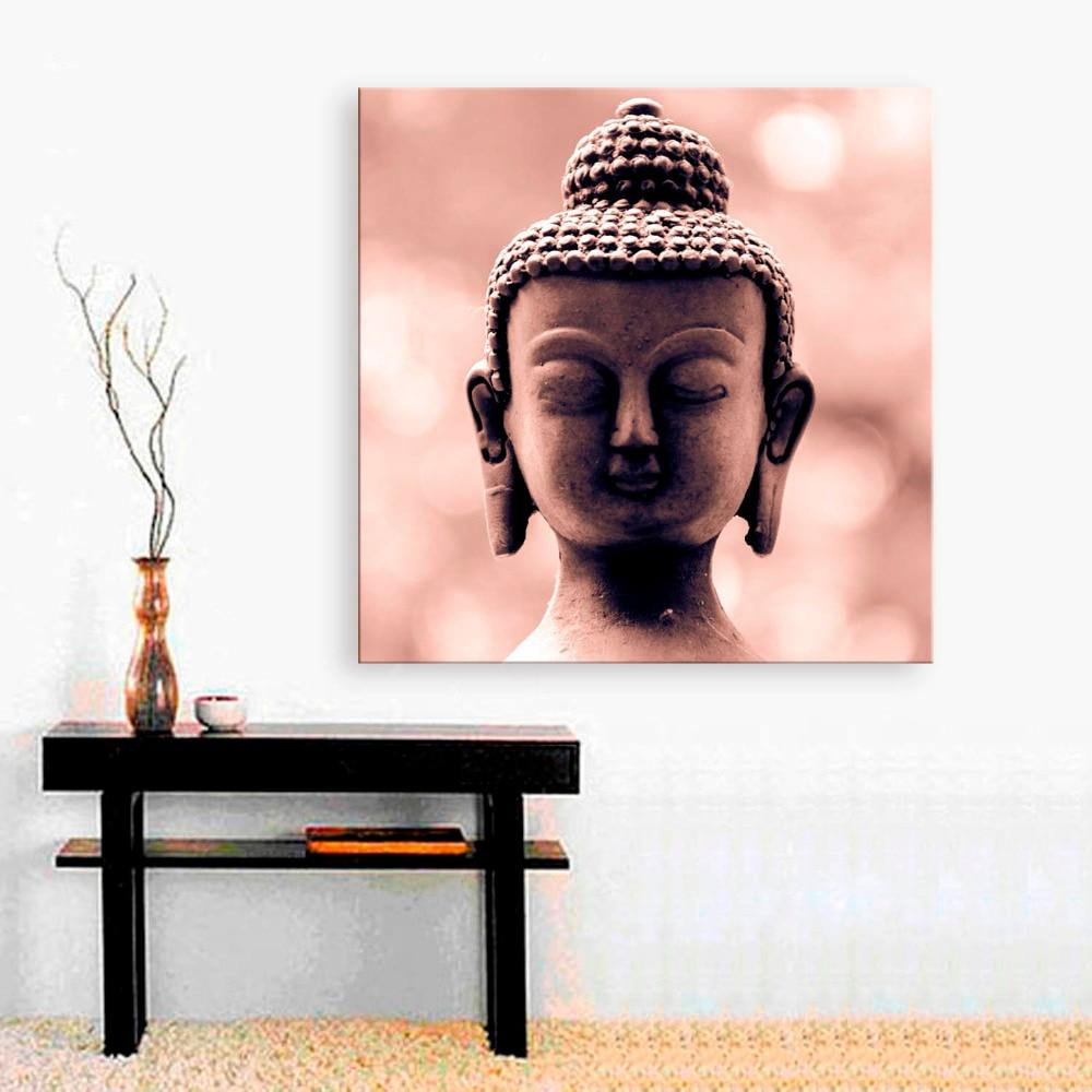 Buddha Head Decor Popular Buddha Head Oil Painting Buy Cheap Buddha Head Oil