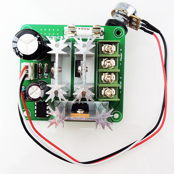 6V 12V 36V 60V 90V PWM speed controller DC motor Digital display 0~100% adjustable drive module Input MAX 15A image
