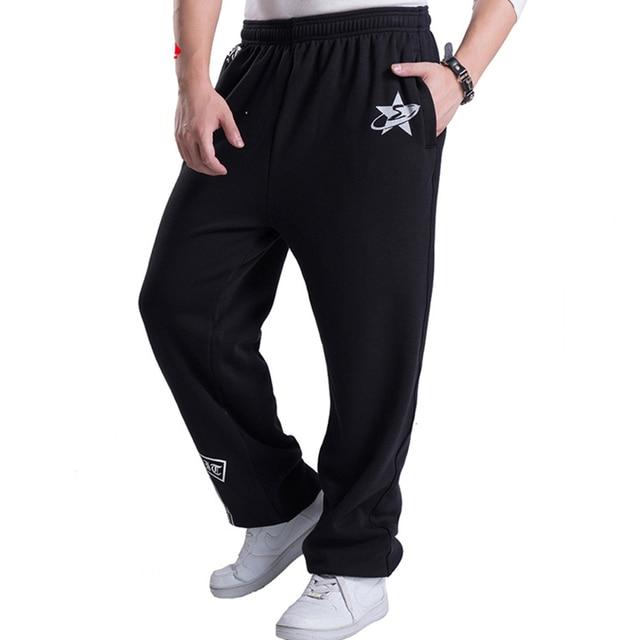 2016 mens joggers impreso estilo baggy hip hop de moda masculina basculador Pantalones al aire libre Pantalones de Chándal Hombres Pantalon Homme 5XL A236
